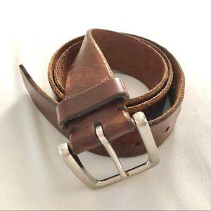 Banana Republic Brown Leather Belt - Size 34